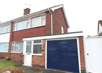 Thumbnail 3 bed semi-detached house for sale in Radnor Drive, Nuneaton, Warwickshire