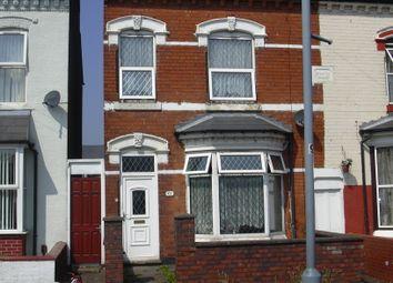 Thumbnail 3 bed terraced house to rent in Algernon Road, Edgbaston