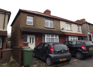 Thumbnail 3 bedroom semi-detached house to rent in Cheam Common Road, Worcester Park