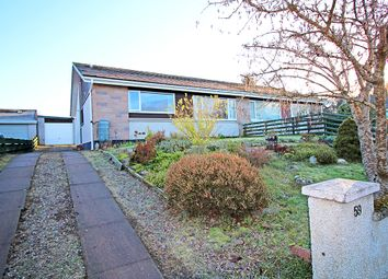 Thumbnail 3 bedroom semi-detached bungalow for sale in Cradlehall Park, Inverness