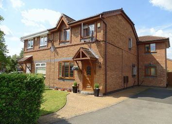Thumbnail 3 bed semi-detached house for sale in Lacy Avenue, Penwortham, Preston
