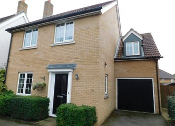 Thumbnail 4 bed detached house for sale in Goldfinch Close, Stowmarket