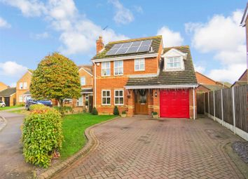 Thumbnail 4 bed detached house for sale in Hopbine Court, Ramsey, Huntingdon