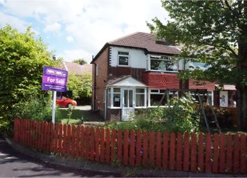 Thumbnail 3 bed semi-detached house for sale in Sylvester Avenue, Offerton