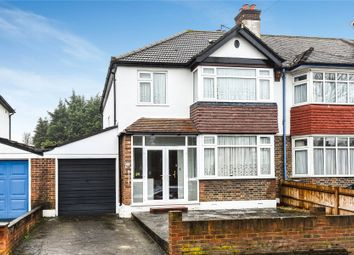 Thumbnail 3 bed semi-detached house for sale in Oak Avenue, Croydon
