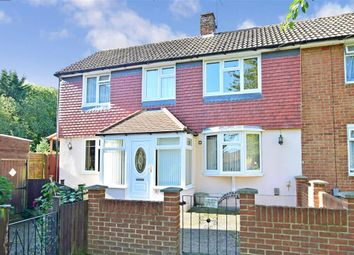 Thumbnail 3 bed end terrace house for sale in Elham Close, Twydall, Gillingham, Kent