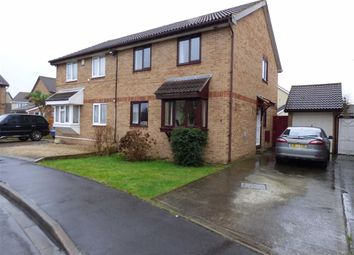 Thumbnail 4 bed semi-detached house for sale in Richards Close, Weston-Super-Mare