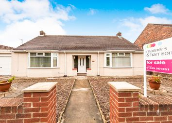 Thumbnail 4 bed detached bungalow for sale in West View Road, Hartlepool