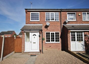 Thumbnail 3 bed end terrace house to rent in Woodnook Close, Selston