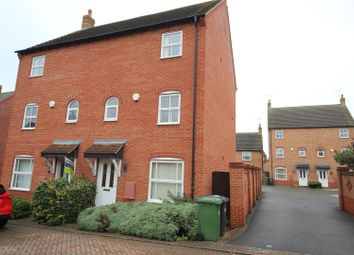 Thumbnail 3 bed town house for sale in Shrub Road, Hampton Vale, Peterborough