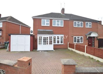 Thumbnail 2 bed semi-detached house for sale in Hillary Avenue, Wednesbury, West Midlands