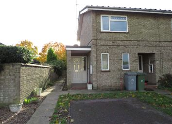 Thumbnail 2 bed flat for sale in Coughtrey Close, Sprowston, Norwich