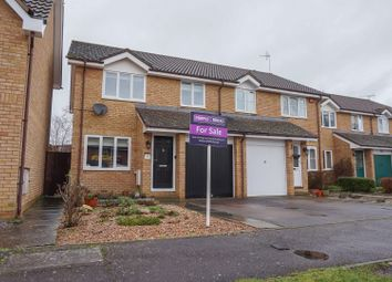 Thumbnail 3 bed semi-detached house for sale in Anxey Way, Haddenham