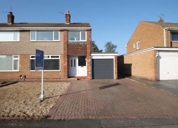 Thumbnail 3 bed semi-detached house for sale in Birchfield Drive, Eaglescliffe