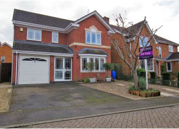 Thumbnail 4 bed detached house for sale in Rowse Close, Romsey