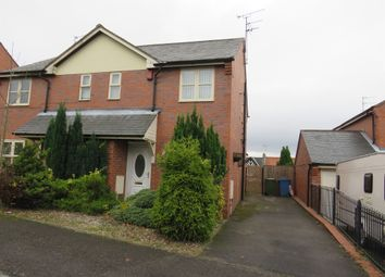Thumbnail 3 bed semi-detached house for sale in Maid Marion Rise, Warsop, Mansfield