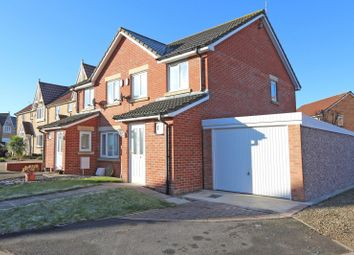 Thumbnail 3 bed property for sale in Hawthorn Road, Widdrington, Morpeth