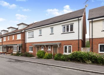 Thumbnail 3 bed semi-detached house to rent in Willowbourne, Fleet