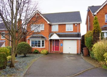 Thumbnail 4 bed detached house for sale in Newby Close, Burton-On-Trent
