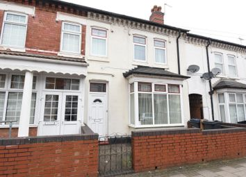 Thumbnail 3 bed terraced house for sale in Edmund Road, Alum Rock, Birmingham