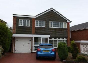 Thumbnail 4 bed detached house for sale in Penryn Road, Walsall, West Midlands