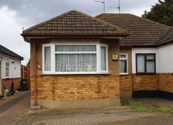 Thumbnail 2 bedroom semi-detached bungalow for sale in Lakeside, North Rainham, Essex