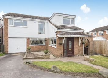 Thumbnail 4 bed detached house for sale in Bideford Close, Wigston, Leicester