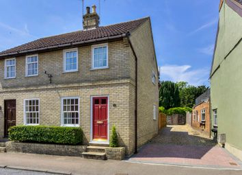 Thumbnail 3 bedroom semi-detached house for sale in Ixworth, Bury St. Edmunds