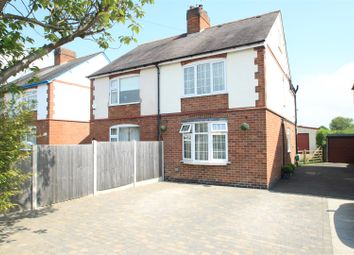 Thumbnail Semi-detached house for sale in The Common, Barwell, Leicester