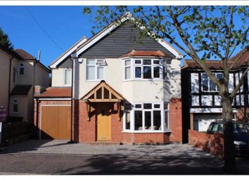 Thumbnail 4 bed detached house to rent in Tower Road, Epping