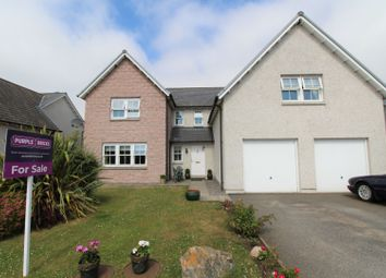 Thumbnail 5 bed detached house for sale in Kinnairdy Close, Banchory