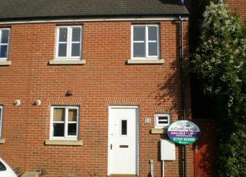 Thumbnail 2 bed end terrace house to rent in Cerne Avenue, Gillingham, Dorset