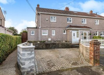 Thumbnail 3 bed semi-detached house for sale in Caban Isaac Road, Penclawdd, Swansea