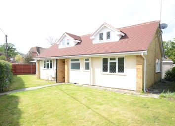Thumbnail 4 bed detached house to rent in Sandy Lane, Church Crookham, Fleet