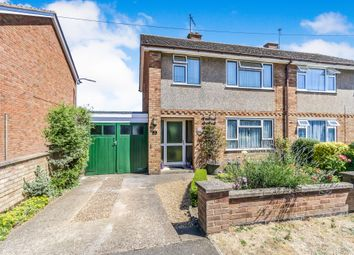 Thumbnail 3 bed semi-detached house for sale in Ash Close, Irchester, Wellingborough
