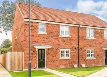 Thumbnail 3 bed semi-detached house for sale in Bramblegate Road, Tockwith, York, North Yorkshire