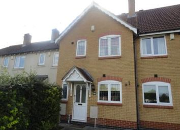 Thumbnail 2 bedroom terraced house to rent in Rothwell Way, Peterborough