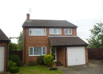 Thumbnail 4 bed detached house for sale in Perkins Road, Irthlingborough, Wellingborough