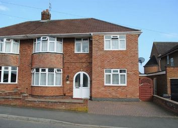 Thumbnail 5 bed semi-detached house for sale in Thornby Drive, Kingsthorpe Village, Northampton