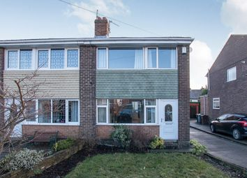 Thumbnail 3 bed semi-detached house for sale in Woodrow Drive, Low Moor, Bradford