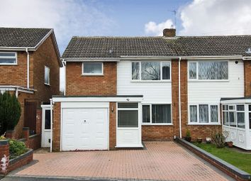 Thumbnail 3 bed semi-detached house for sale in Rochester Avenue, Chase Terrace, Burntwood