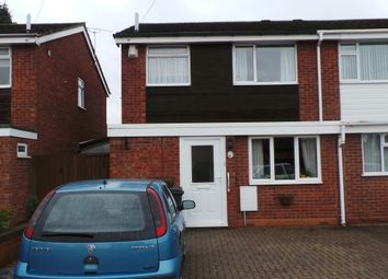 Thumbnail 3 bed semi-detached house for sale in Walsh Drive, Sutton Coldfield, West Midlands