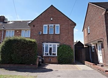 Thumbnail 3 bedroom end terrace house for sale in Abbey Drive, Luton