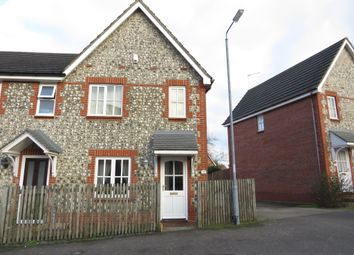 Thumbnail 2 bed end terrace house for sale in Desborough Way, Thorpe St. Andrew, Norwich