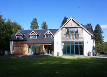 Thumbnail 5 bed detached house for sale in Bridge Of Cally, Blairgowrie