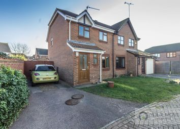Thumbnail 3 bed semi-detached house for sale in Douglas Close, Carlton Colville, Lowestoft