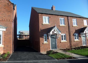 Thumbnail 3 bed semi-detached house to rent in Stafford Close, Melbourne, Derby