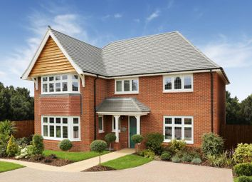 Thumbnail 4 bedroom detached house for sale in Sanderson Manor, Cambridge Road, Hauxton, Cambridge