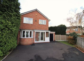 Thumbnail 3 bed detached house for sale in Copperbeech Close, Harborne