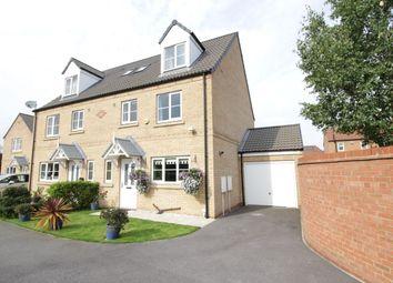 Thumbnail 4 bedroom semi-detached house for sale in Bracken Court, Sherburn In Elmet, Leeds